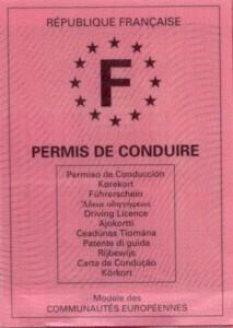 permis de conduire: retrait des points