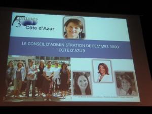 Conseil d'Administration Femmes 3000