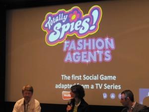 MIP TV 2010 2ème jour Totally Spies jeux sociaux en ligne 002