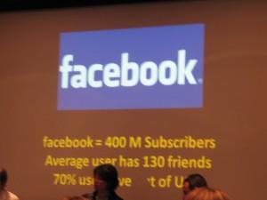 MIP TV 2010 facebook 2ème jour 006