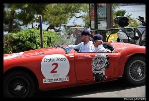 Beaulieu sur Mer : Tour Auto 2010 Optic 2000 arrive sur le port… Le 24 Avril 2010…