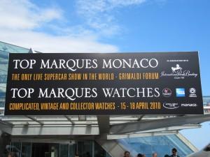 Monaco : Top Marques 2010… Quand le luxe s'en mêle, l'hors de propos se rebelle…