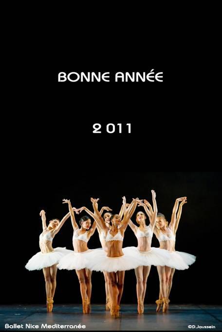 L'Opéra de Nice Côte d'Azur nous formule ses meilleurs voeux pour l'année 2011…