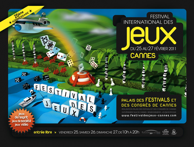 Carton plein pour le Festival International des Jeux 2011 de Cannes…