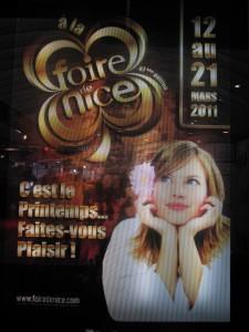 FOIRE DE NICE 2011 : Avec Gérard TARIDE la foire se fait design…