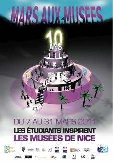 Nice : «Mars aux Musées» 2011 fête ses 10 ans…