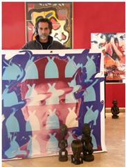 Nice: L'Artiste Jean-Antoine HIERRO organise une vente aux enchères au profit des sinistrés du Japon samedi 7 Mai 2011 à 14h à HIERRO DESVILLES ART GALLERY…