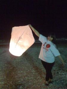 Solidarité Japon : Des lumières d'espoir dans le ciel azuréen…