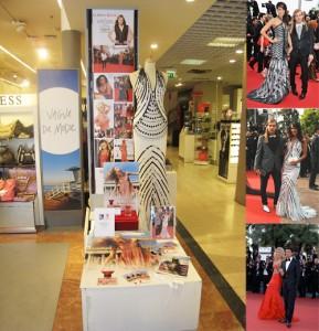 Christophe GUILLARME a le plaisir de présenter aux Galeries Lafayette de Cannes son tout premier parfum «Le Tapis Rouge de Christophe Guillarmé» lors du 64ème Festival de Cannes…