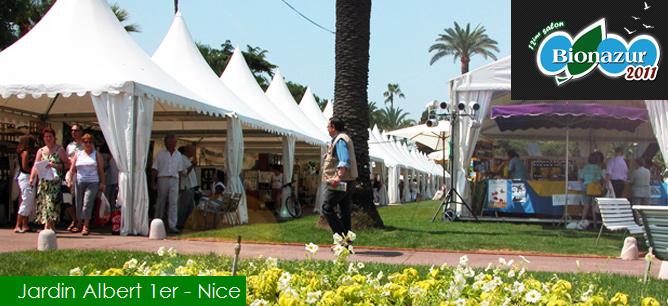 NICEXPO : Salon «BIONAZUR» 11,12,13 Juin 2011 au Jardin Albert 1er…