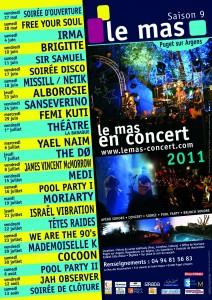 Puget Sur Argens : «Le Mas des Escaravatiers» nous propose sa programmation musicale pour cet été…
