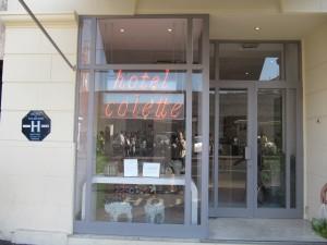 CANNES ACCOUCHE DE L'HOTEL «COLETTE»…