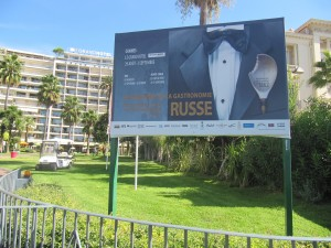 CANNES : la premire semaine de la Gastronomie Franco-Russe au Grand Htel&#8230;