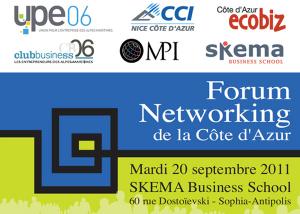 Forum Networking de la Côte d'Azur succès confirmé pour la troisième édition à SKEMA Business School !…