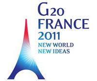 G 20 A CANNES : M. DREVET, M. WEIGEL, M. BRANDET, M. BROCHAND A LA PRÉFECTURE DE NICE…