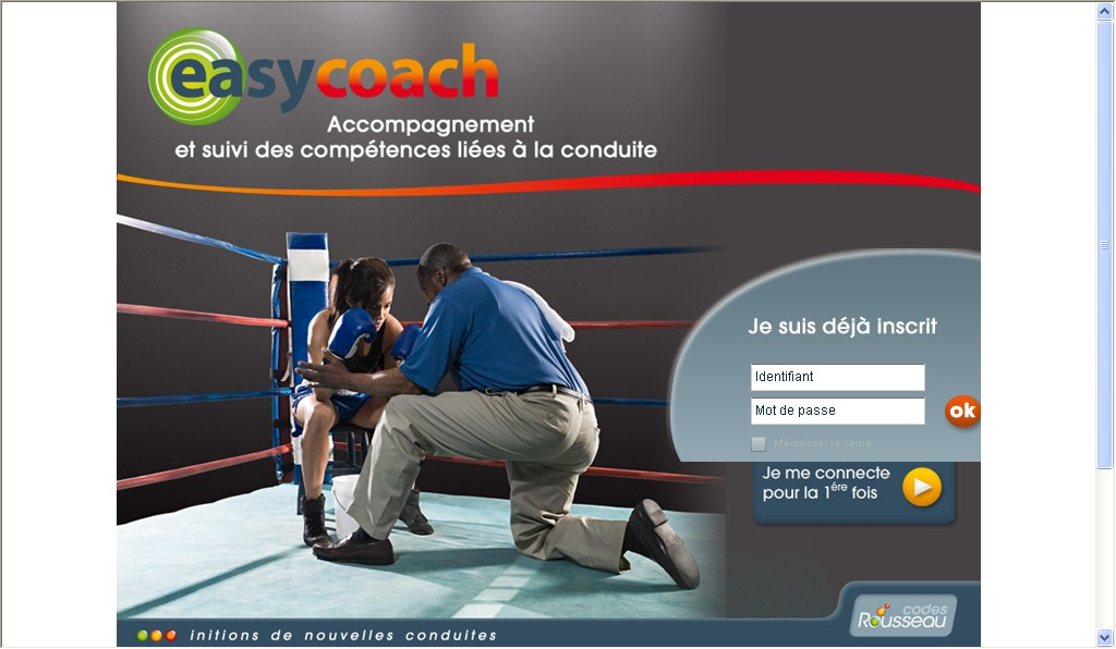 EASYCOACH : &laquo;&nbsp;CODES ROUSSEAU, INITIONS DE NOUVELLES CONDUITES&nbsp;&raquo;&#8230;
