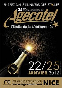 AGECOTEL 2012 : Laurent & Jacques POURCEL, parrains du Salon et Présidents d'honneur du concours «LE NEPTUNE D'OR COTE D'AZUR» ainsi que de la première «COUPE DU MONDE DES ÉCAILLERS»…