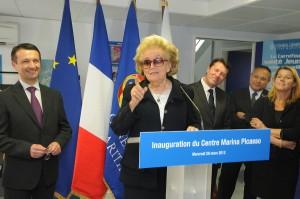 Nice : Marina PICASSO inaugure la Maison des Adolescents sous le haut patronage et en présence de Madame Bernadette CHIRAC Présidente de la Fondation Hôpitaux de Paris-Hôpitaux de France…