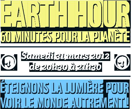 Le Palais des Festivals et des Congrès et les grands hôtels cannois participent à la Hearth Hour…