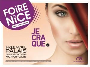 FOIRE DE NICE 2012 avec WILFRIED B. créateur styliste et LEA MORIN décoratrice et créatrice…