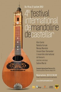 Castellar : 4me Festival International de Mandoline 2012&#8230;