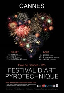 Cannes : « Festival d'Art Pyrotechnique » 2012…