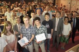Sophia-Antipolis : «Prix des Olympiades Académiques de Mathématiques et de Géosciences 2012 » …