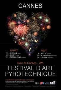 Cannes : «Palmarès 2012 Festival d'Art Pyrotechnique  » …