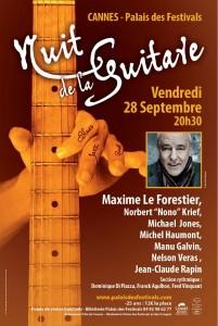 Cannes : «2ème Nuit de la Guitare» au Palais des Festivals et des Congrès…