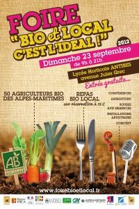 Antibes : «1ère Foire de Producteurs Bio des Alpes Maritimes»…
