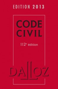 Dalloz 2013 : Code Civil, Code Junior, Guide du Droit des Profs, Guide des Peines…