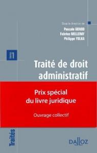 «Prix spécial du livre juridique» décerné au Traité de droit administratif …