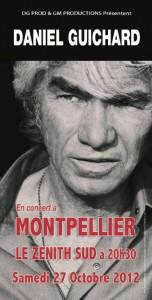 Montpellier : Daniel GUICHARD donne un concert au profit de la ligue contre le cancer…