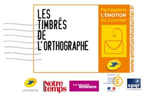 Coup d'envoi de la 3ème édition du concours national des Timbrés de l'Orthographe ! …