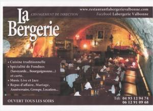 La «BERGERIE» à Valbonne avec Michel ORION…Ferré et Baudelaire