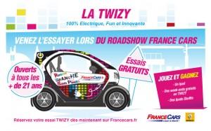 AVEC FRANCE CARS TWIZY S'ÉCLATE EN VILLE…