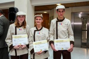 Le Beausset : Finale des Meilleurs Jeunes boulangers de France : Deux jeunes filles dans le trio gagnant !…