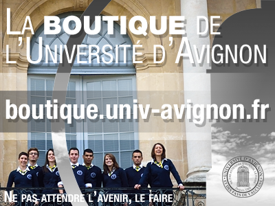 L'Université d'Avignon lance sa boutique officielle : http://boutique.univ-avignon.fr…