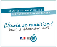 Académie de Nice : «Journée Internationale des Personnes Handicapées»…