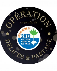 Opération Délices & Partage 2012 : 8 000 € reversés à «Action contre la Faim»…