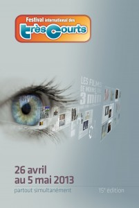 Cinéma : «15è Edition du Festival International des Très Courts» (J-8) sous la présidence de Marianne SLOT…