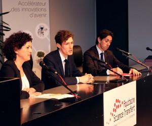 «Aquitaine Science Transfert», «l'Université Bordeaux 1  »  et «Argolight» signent une licence dans le domaine de l'imagerie biologique…