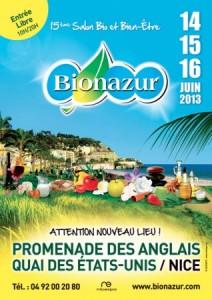 Nice : Le «Salon Bionazur 2013 » se déroulera sur un lieu exceptionnel «La Promenade des Anglais  » …