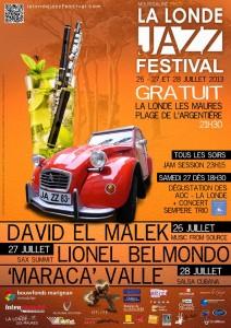 «La Londe des Maures Jazz Festival 2013  » …