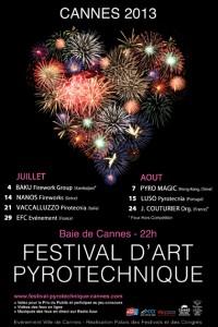 CANNES : «FESTIVAL D'ART PYROTECHNIQUE » : PALMARÈS 2013
