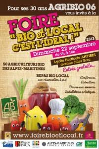 Antibes : 2ème Edition de la Forie «Bio & Local, c'est l'idéal»…