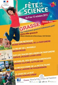 Grasse : « Fête de la Science 2013  » …