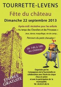 «Fête du Château à Tourrette-Levens» …