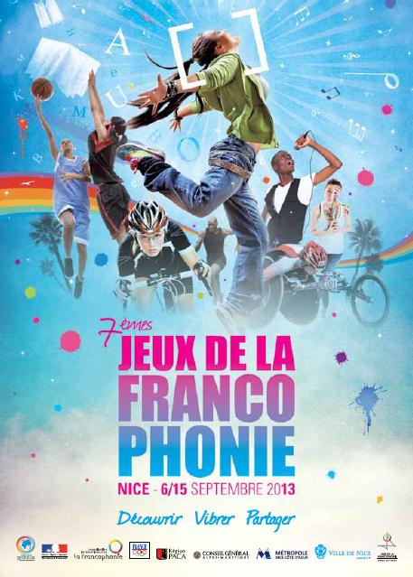 Les élèves de l'Académie de Nice acteurs des  «Jeux de la Francophonie » du 6 au 12 Septembre 2013…