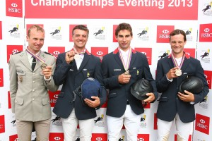 La France est médaillée de Bronze aux Championnats d'Europe de Concours Complet d'Equitation…